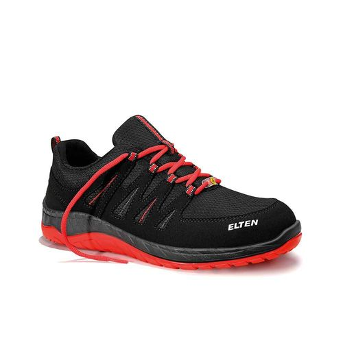 ELTEN MEDDOX BLACK-RED LOW ESD S3